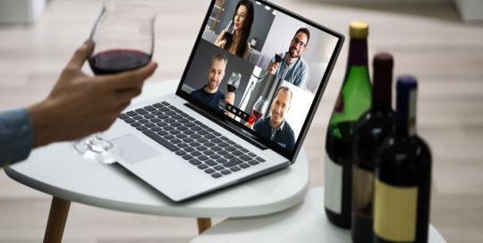 Online-Weintasting